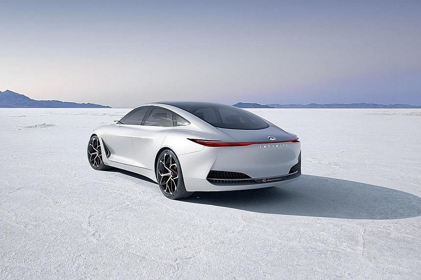 The audacious Q Inspiration may well signal Infiniti's new design offensive.