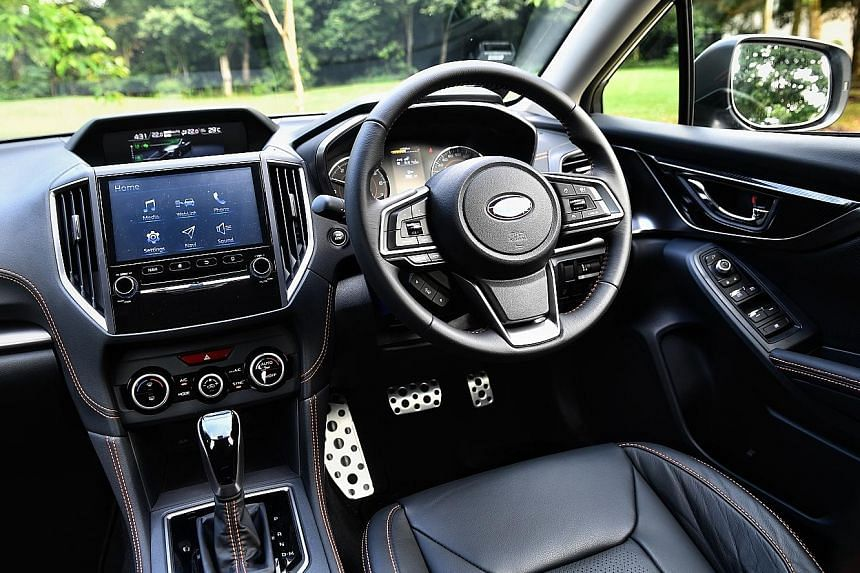 The XV handles a fast bend with minimal fuss and maximum confidence. Its 6.3-inch LCD infotainment monitor has enhanced connectivity and navigation.