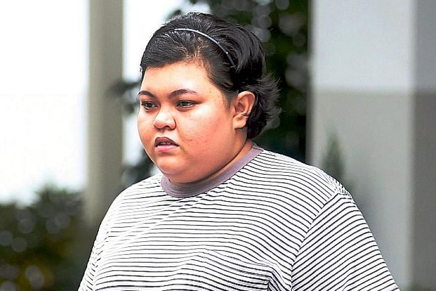 Rausyan Sajjad Mohamad Rafie and Shaqilah Mohamad Rafie were each jailed for 16 months on Thursday after admitting two charges each of abetment by conspiracy to receive a total of $441,545 in March 2016.