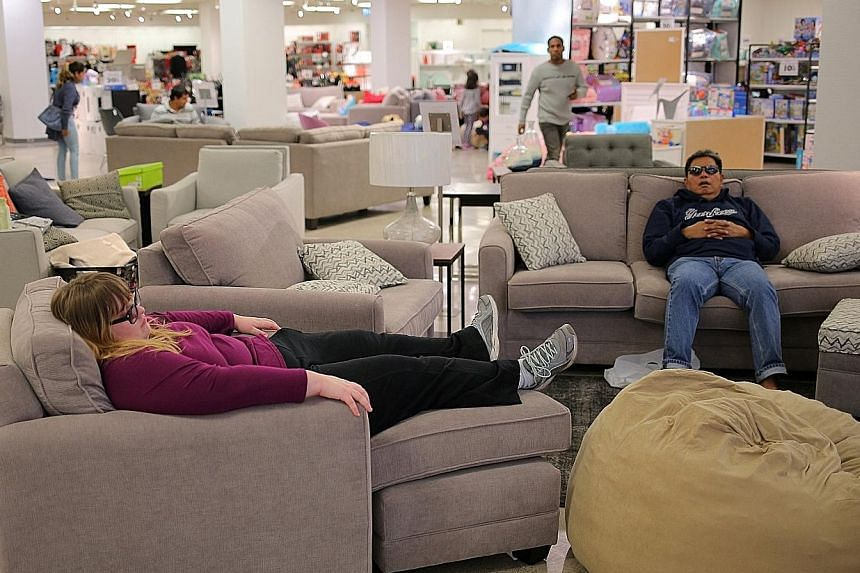 Shoppers at a liquidation sales event at a Sears department store in Mississauga, Ontario, Canada, last year.
