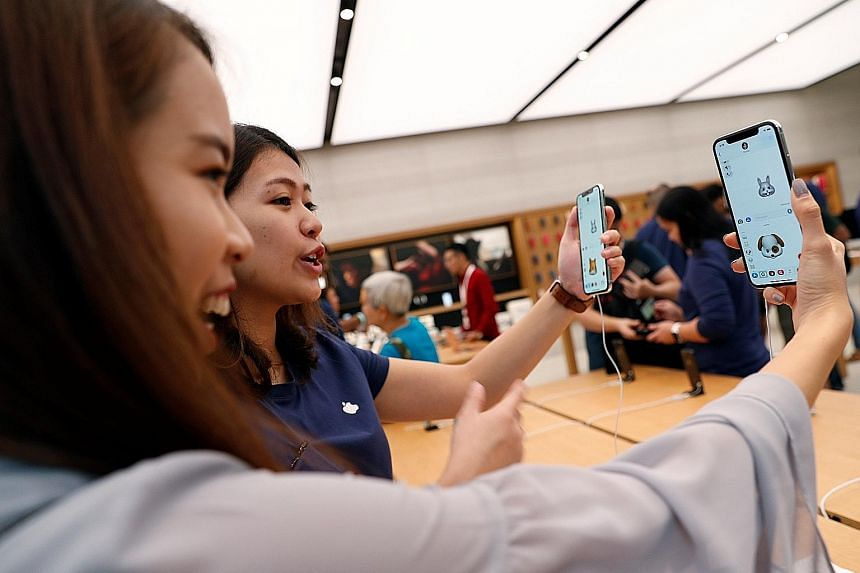 The launch of the iPhone X in November last year could have led to the sales surge in computer and telecommunications equipment, which was by far the best-performing segment that month, going up by 16.6 per cent compared with a year ago.