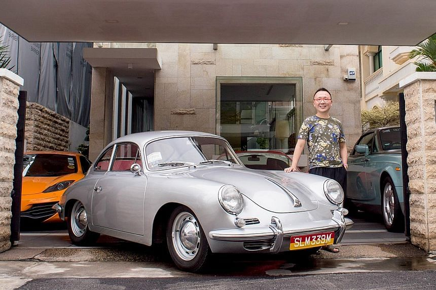 Dr Chan Kok Weng landed the 356B S-90 Coupe in 2016 for about $500,000 at an auction in the United Kingdom.