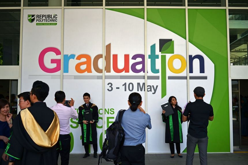 Fresh polytechnic graduates had it tougher in the job market last year, according to the latest survey conducted by the five polytechnics here.