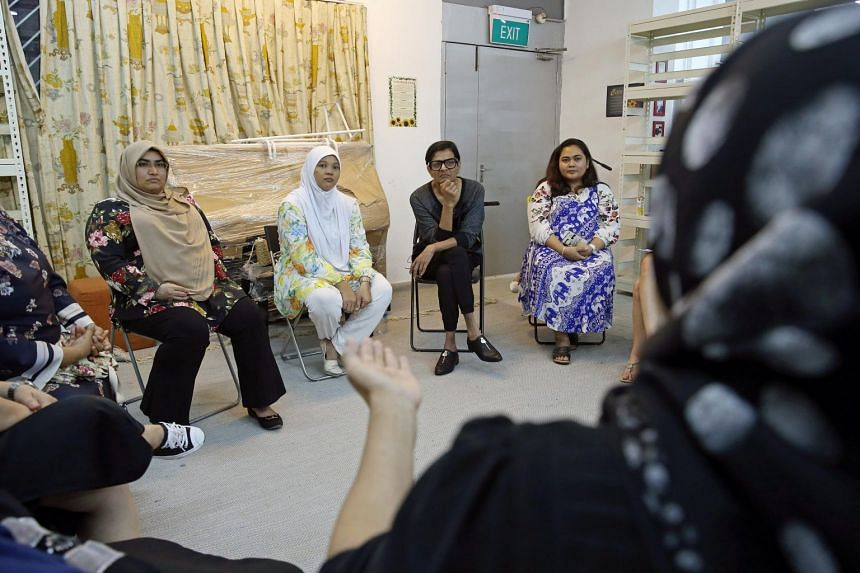 Kumar at the Beyond Social Services premises in Whampoa Drive.