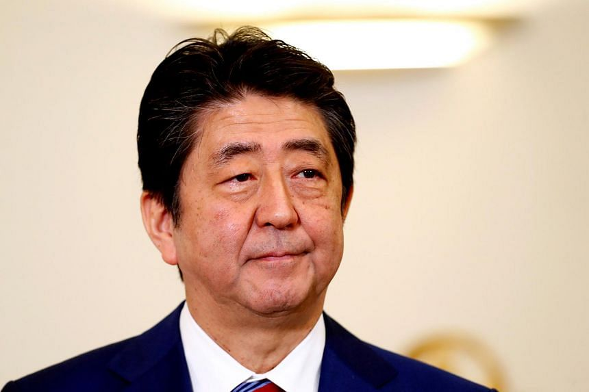 """Despite a recent cooling of tensions in the run-up to the Winter Olympics in South Korea, Japanese Prime Minister Shinzo Abe has insisted on """"maximising pressure"""" on Pyongyang over its nuclear and missile programmes."""