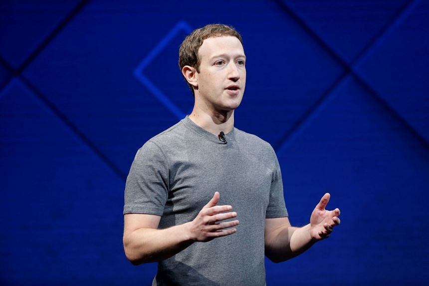Facebook Founder and CEO Mark Zuckerberg speaks on stage during the annual Facebook F8 developers conference in San Jose, California, on April 18, 2017.