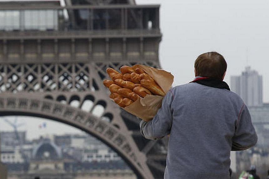 Along with the Eiffel Tower, the baguette is one of the main symbols of the country, say the French.
