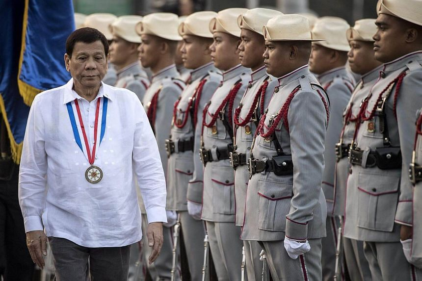 Philippine President Rodrigo Duterte has rejected calls from his allies to extend his six-year term and to cancel elections next year.