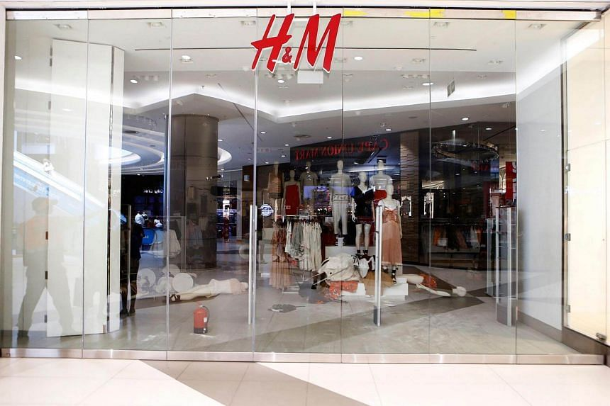 A H&M clothing store in Sandton City shopping mall in Johannnesburg closed after members of the Economic Freedom Fighters opposition party stormed the store in protest of an alleged racist slogan printed on a hoodie that caused uproar on social media