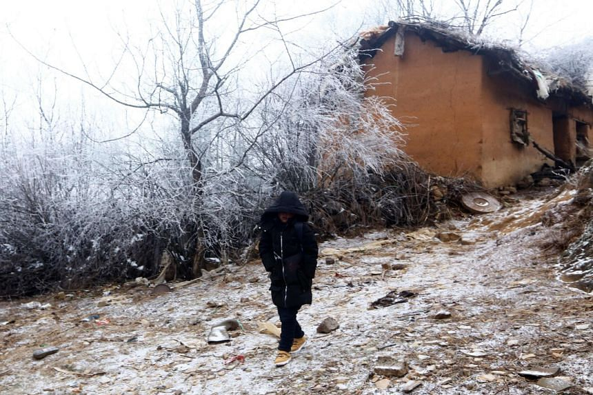 It took Fuman two hours to walk the nearly 5km to school.