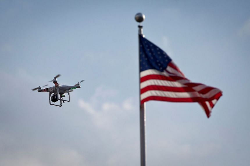 Drones flying through federal no-fly zones in the US are causing some concern to security officials, who worry that the drones could pose a potential threat.