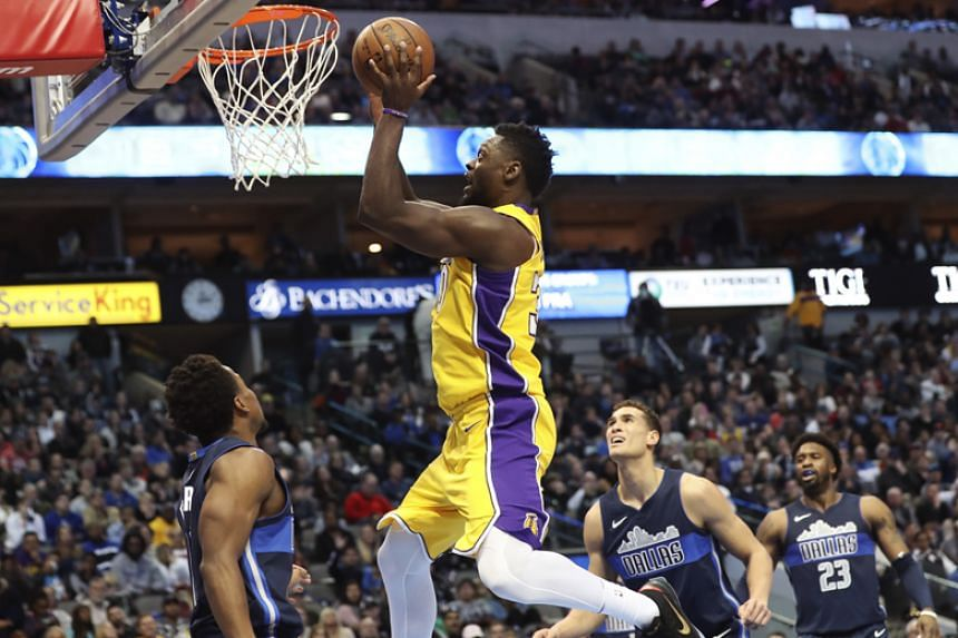 Julius Randle recorded 23 points and 15 rebounds in the Los Angeles Lakers' 107-101 road victory over the Dallas Mavericks on Jan 13.