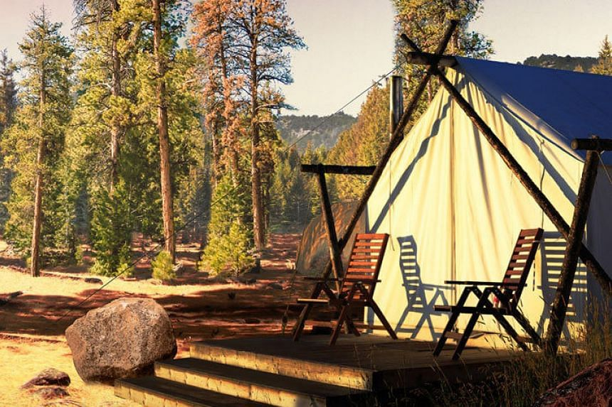 An American road trip with luxurious campsite stays is a new itinerary offered by Scott Dunn.