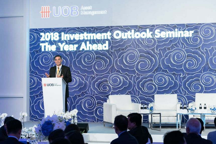 UOB Asset Management head of multi-asset strategy Anthony Raza said shares can still be expected to return 8 per cent to 10 per cent, but bond prices may be hurt, as interest rates are expected to go up.