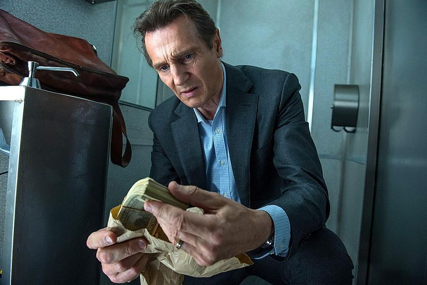 Liam Neeson is a police officer-turned-insurance salesman in The Commuter.