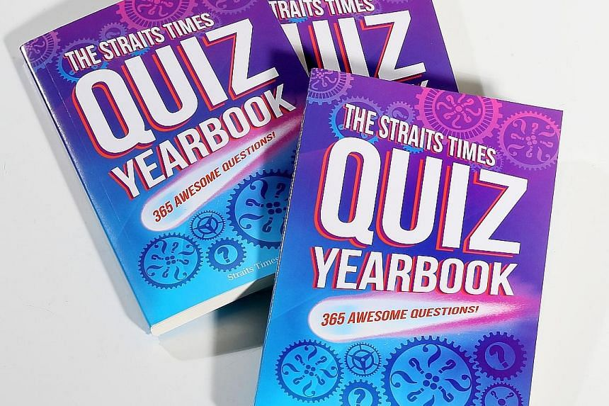 The Straits Times Quiz Yearbook is produced by The Straits Times Schools team and published by ST Press.