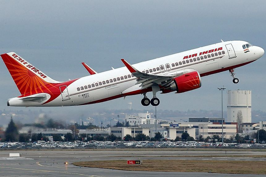 Sats owns half of Air India Sats, a joint venture between Air India and the Singapore firm. Air India has a debt of about $10.8 billion.