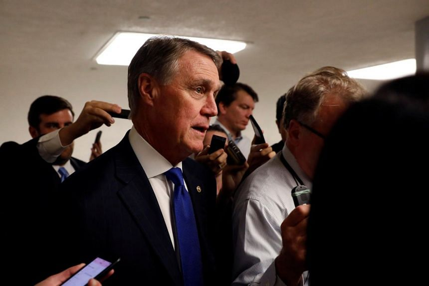 "Senator David Perdue said on ABC's This Week that Trump ""did not use that word,"" and accused Democratic senator Richard J. Durbin of distorting what the president had said at the meeting, which included more than a half-dozen lawmakers."