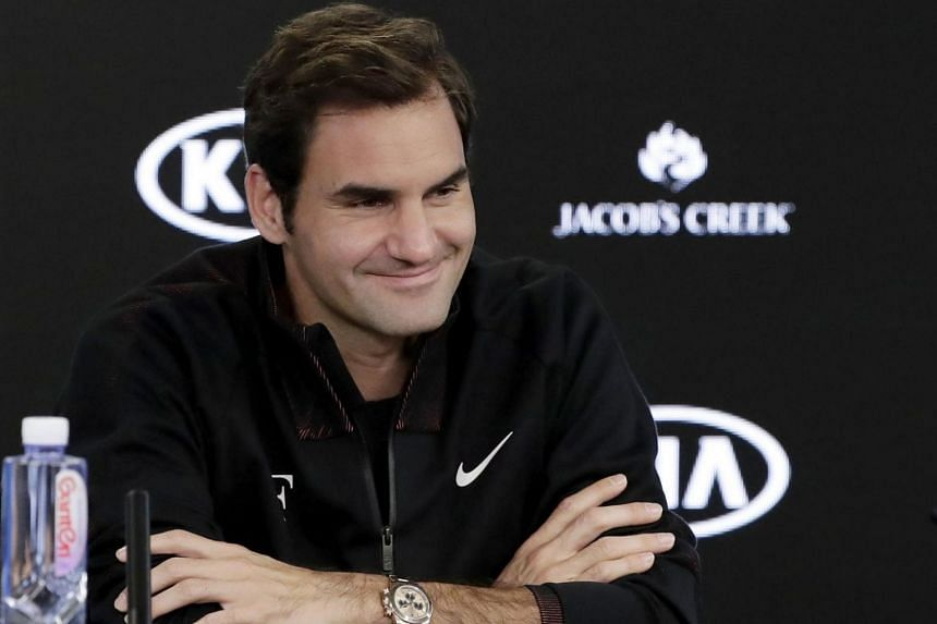 Defending champion Roger Federer said at his age, he liked to play down his chances in his 19th Australian Open.