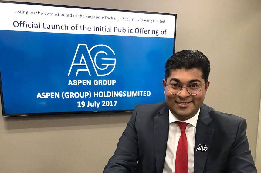 President, executive director and group chief executive of Aspen Group Holdings Murly Manokharan.