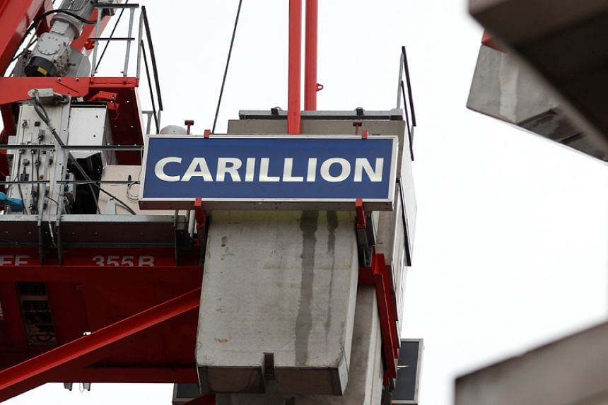 Carillion collapsed on Jan 15 in one of Britain's biggest corporate failures, throwing hundreds of large projects into doubt and forcing the government to step in to guarantee vital public services.