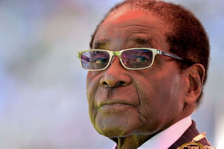 Mugabe (above) resigned after apparently striking a deal with the army and supporters of then-vice president Emmerson Mnangagwa.