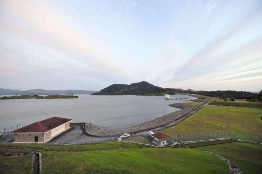 The Linggiu Reservoir in Johor Baru in a 2012 photograph.