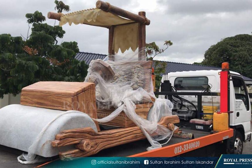 "The ""foot mobile"" was a gift from Pahang Crown Prince Tengku Abdullah Sultan Ahmad Shah."