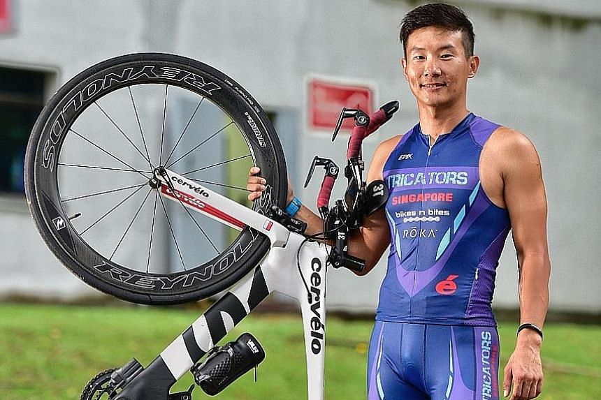 Unlike many other serious athletes, Ironman competitor Jonathan Kang admits to a weakness for Coca Cola and chocolate, and says beer is his kryptonite.