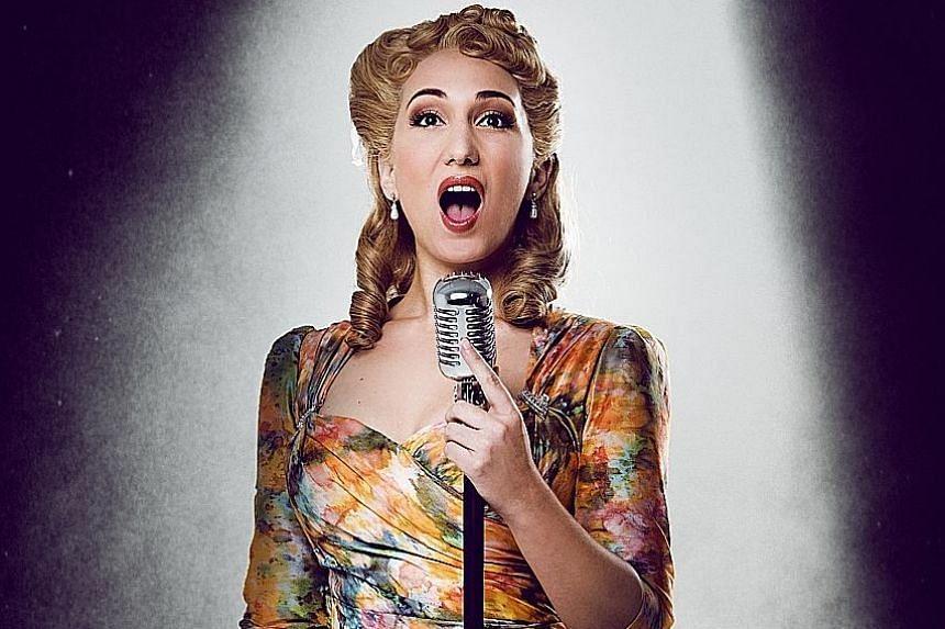 London-born actress Emma Kingston, whose mother is Argentinian, plays Eva Peron on the Evita International Tour.