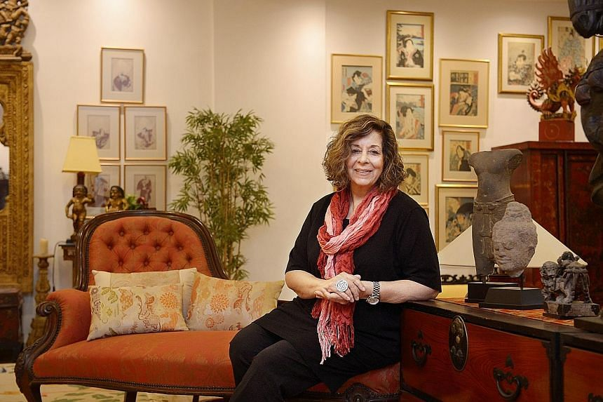 Singaporean author Meira Chand (above) interviewed four women members of the Rani of Jhansi Regiment for her ninth book, Sacred Waters.