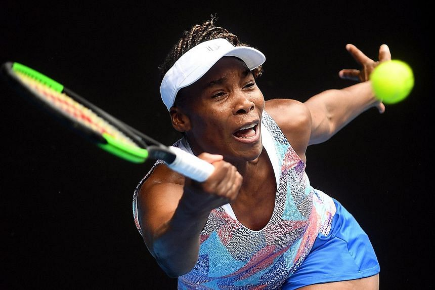 Venus Williams' first-round exit yesterday marks the first time since 1997 that neither she nor absent sister Serena will be playing in the second round of the Australian Open.
