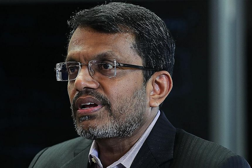 """Mr Ravi Menon said that MAS is concerned over the """"speculative dimension"""" of cryptocurrencies being sold."""