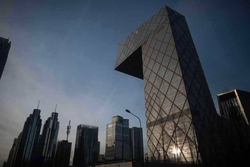 The Beijing central business district in a photo taken on Jan 6, 2018.