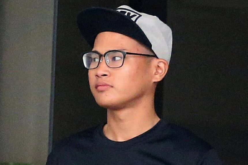 Khairul Hairuman, 19, is accused of causing the death of a 73-year-old pedestrian with a bicycle.