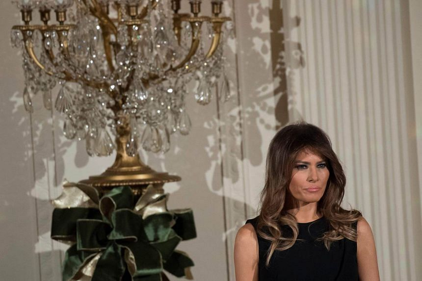 A Gallup poll in December said  Melania Trump was viewed favourably by 54 per cent of Americans, up 17 points from January - she is significantly more popular than her husband.