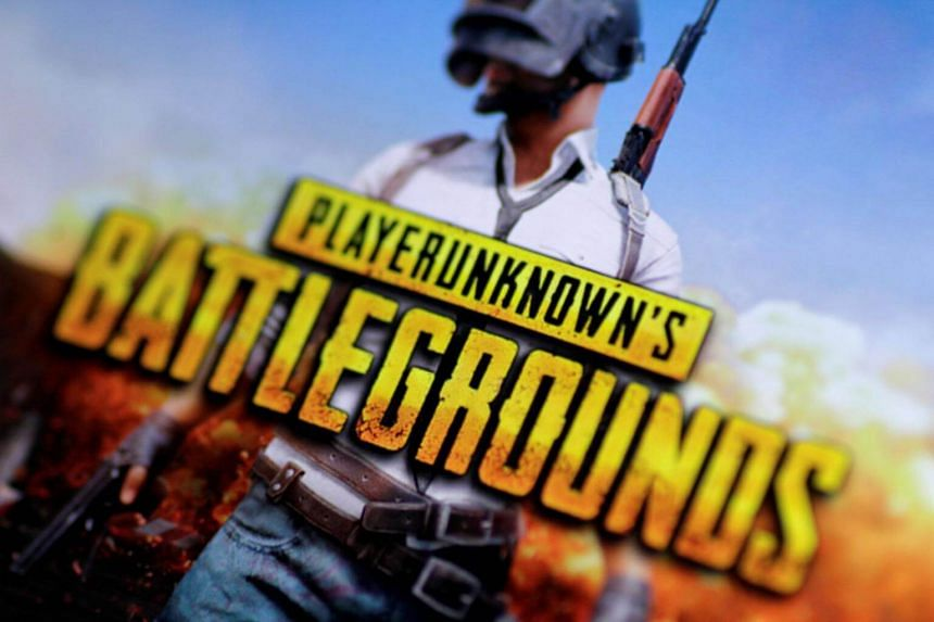 The PlayerUnknown's Battlegrounds video game seen in an illustration photo.