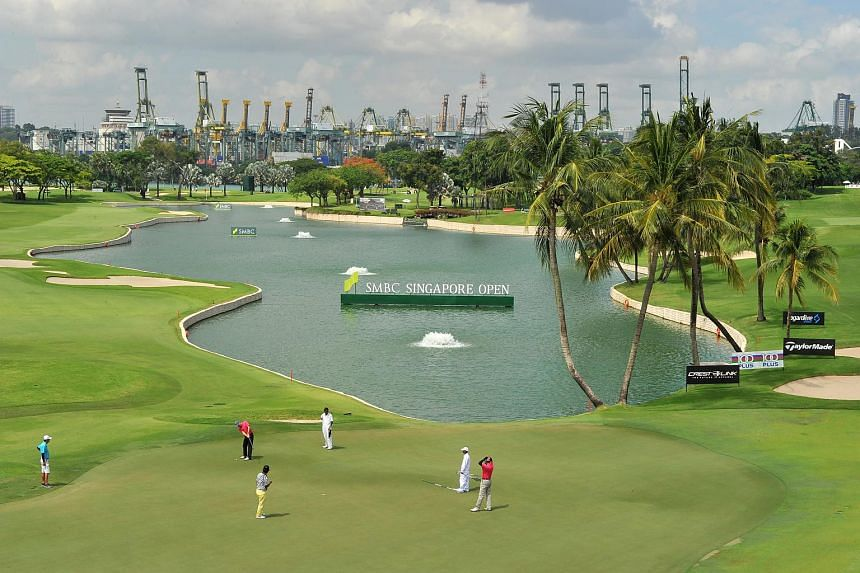 International golfers praised Sentosa's Serapong Course (pictured), ahead of the 2018 edition of the SMBC Singapore Open.