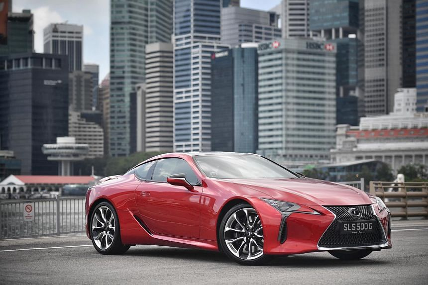 The Lexus LC500 was named the Straits Times Car of the Year 2017.