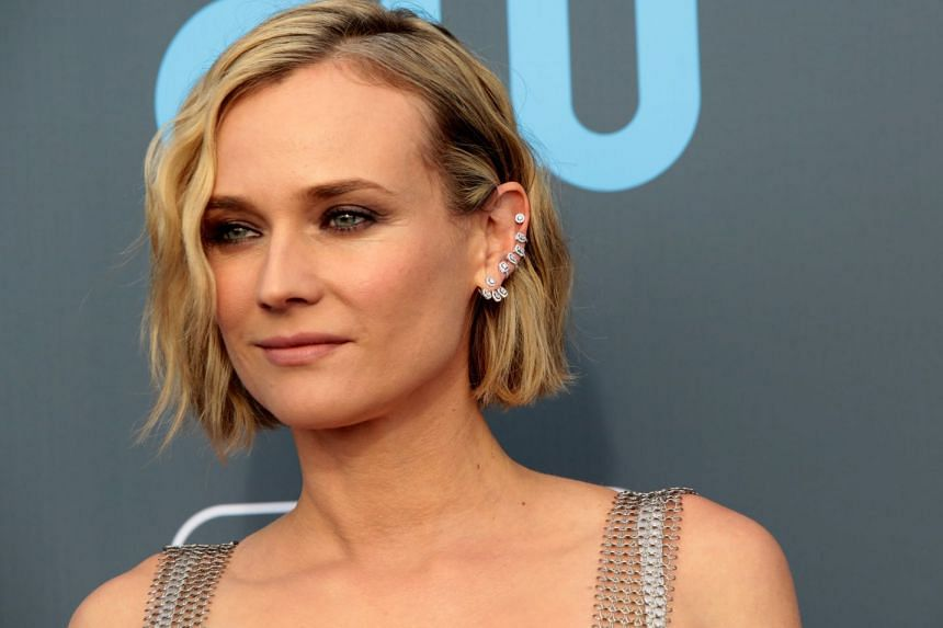 Diane Kruger told French television that she has never been paid as much as her male co-stars.