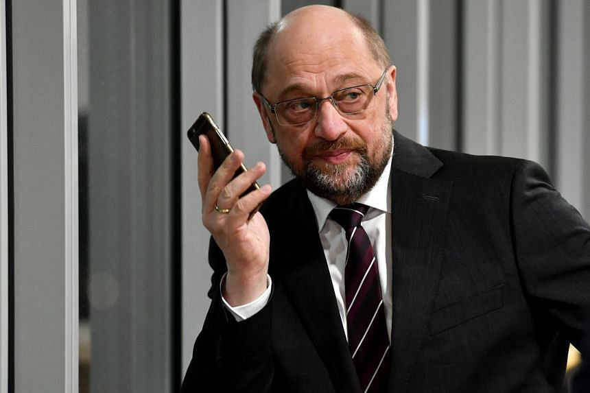 SPD leader Martin Schulz was in Dortmund on Jan 15 evening to appeal for backing from members in North Rhine-Westphalia.