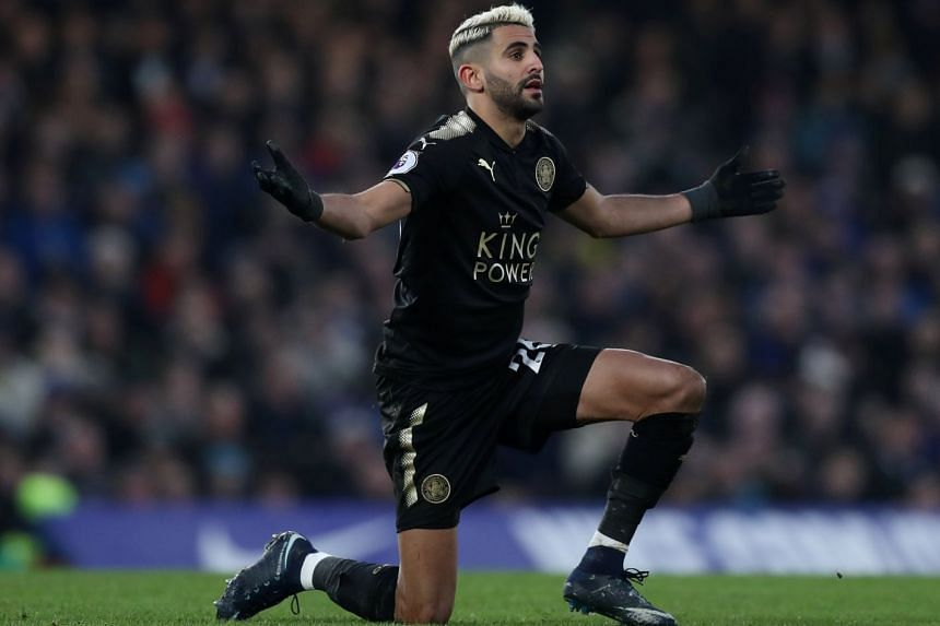Riyad Mahrez had asked to leave Leicester City in pre-season.