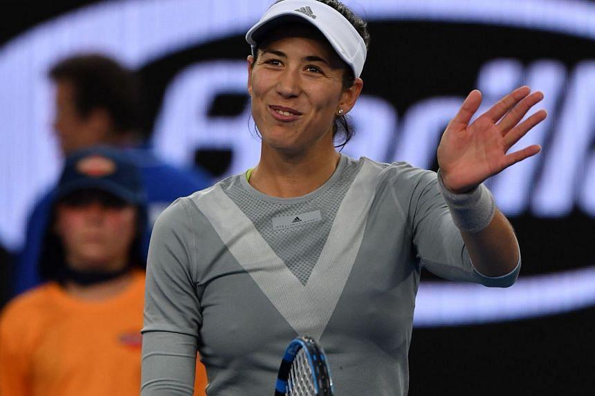 """Garbine Muguruza said she was hoping to be """"pain-free"""" to begin her Australian Open campaign."""