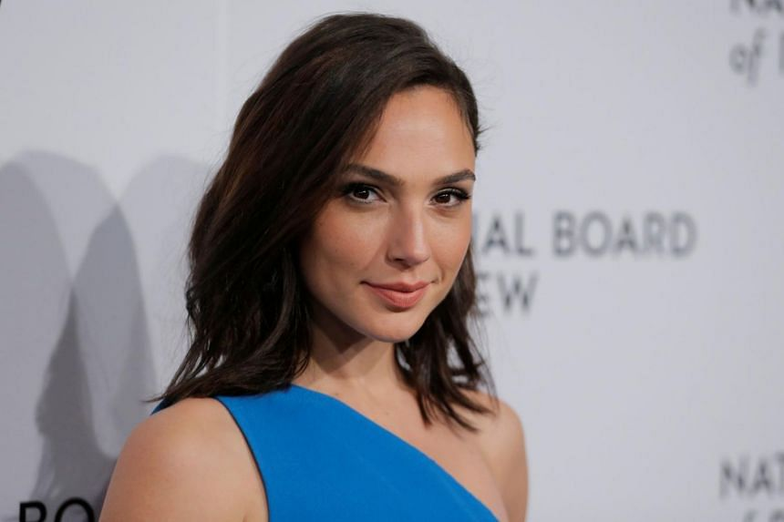 Actress Gal Gadot arrives to attend the National Board of Review awards gala in New York on Jan 9, 2018.