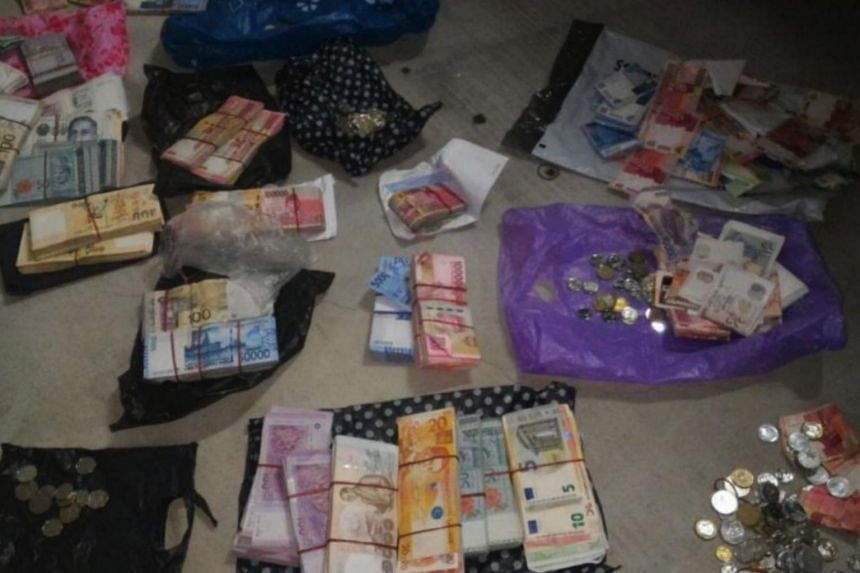 Singapore Customs officers found local and foreign currencies of more than $120,000 in a follow-up search of the offender's car.