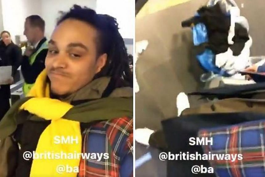 Ryan Carney Williams, who goes by the name Ryan Hawaii on Twitter, was barred twice from flying home at Iceland's Keflavik International Airport, after he first turned up wearing eight pairs of pants and 10 shirts.