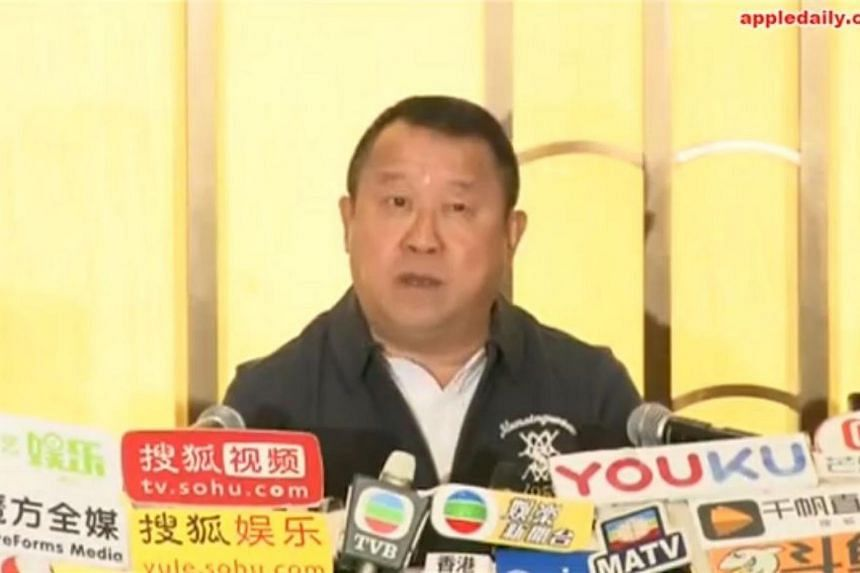 Actor Eric Tsang denied allegations on social media that he had sexually assaulted several young models, in a press conference in Hong Kong on Jan 17, 2018.