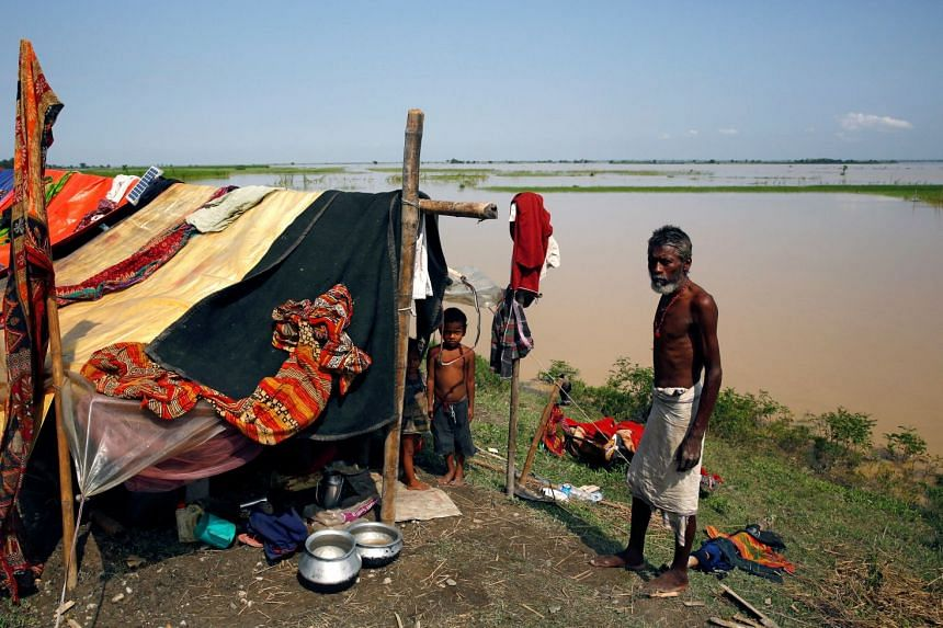 Most of the flood affected victims have been living in poorly built temporary shelters, which add to their susceptibility to extreme weather.