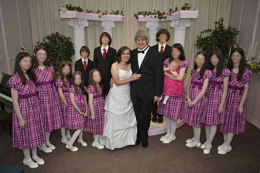 The California couple accused of starving and imprisoning their 13 minor and adult children tried to present a happy family image.