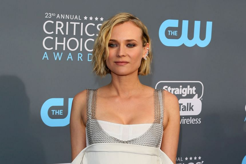 Actress Diane Kruger at the 23rd annual Critics' Choice Awards in Santa Monica, California, last Thursday.